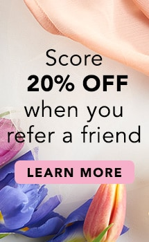 Score 20% OFF when you refer a friend at Evine