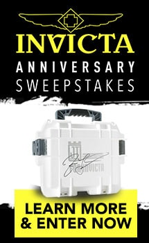 Invicta Anniversary Sweepstakes