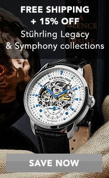 FREE SHIPPING + 15% OFF - Stührling Legacy & Symphony collections at Evine