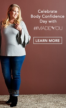 Celebrate Body Confidence Day with #MADEFORYOU at Evine