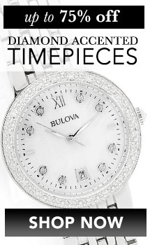 Up to 75% off Diamond Accent Watches at Evine - 662-925 Bulova Women's Maiden Lane Quartz 0.15ctw Diamond Mother-of-Pearl Bracelet Watch