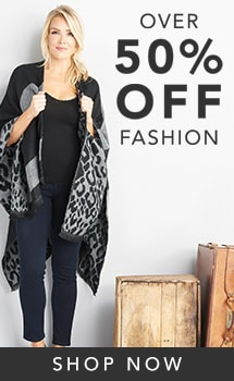 Over 50% Off Fashion at ShopHQ - 738-922 Harve Benard Intarsia Knit Fringe Detailed Reversible Ruana Wrap