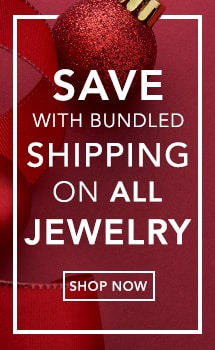 Save with bundled shipping on all jewelry at Evine