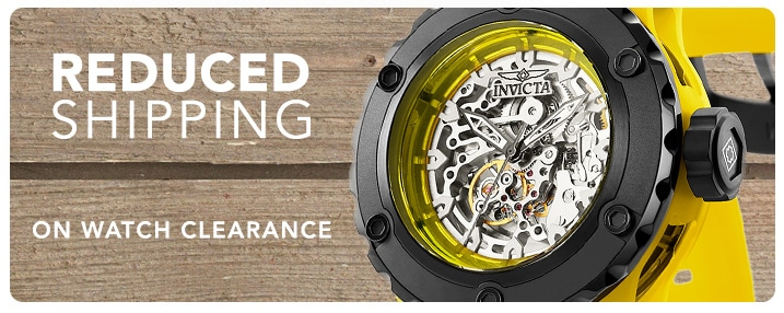 Reduced Shipping on Clearance Watches - Invicta Men's 52mm Specialty Subaqua Anatomic Automatic Skeletonized Dial Watch w/ 1-Slot Dive Case - 647-159