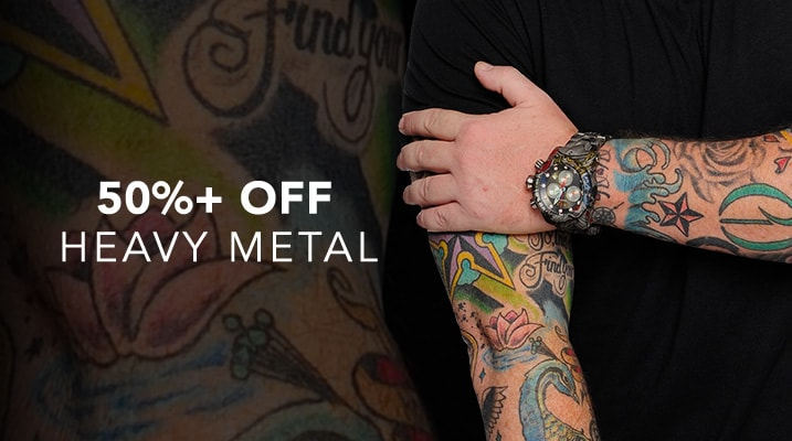 50%+ OFF Heavy Metal at Evine
