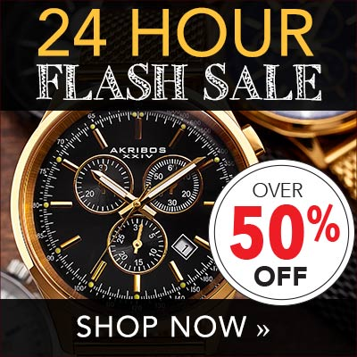 24 Hour Flash Sale - Save Over 50%