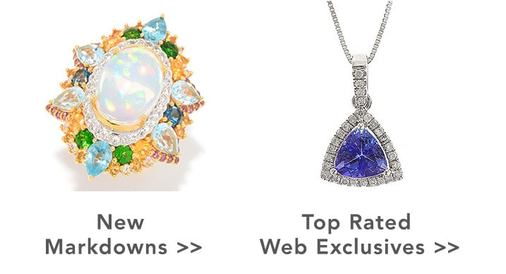 New Markdowns and Top Rated Web Exclusives at Evine