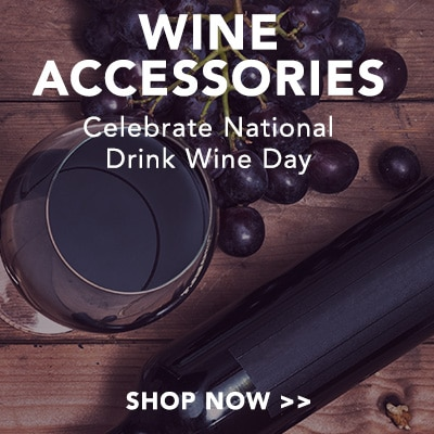 WINE ACCESSORIES - Celebrate National Wine Day at Evine