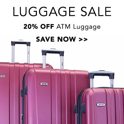 Luggage Sale at Evine - 736-944 - ATM Journey 2 Choice of Color 3-Piece Spinner Luggage Set