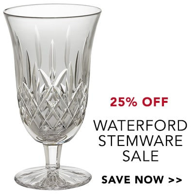 Top Selling Beauty at Evine - Waterford Crystal Lismore 12 oz Iced Beverage Glass - 460-558