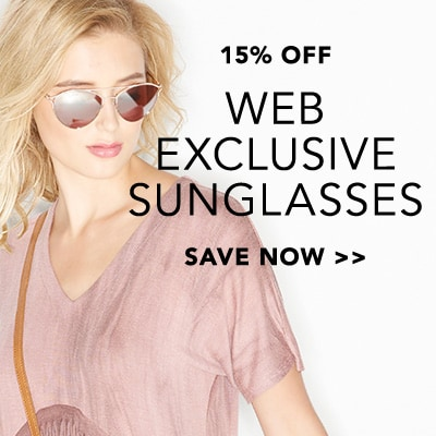 15% OFF Web Exclusive Sunglasses at Evine