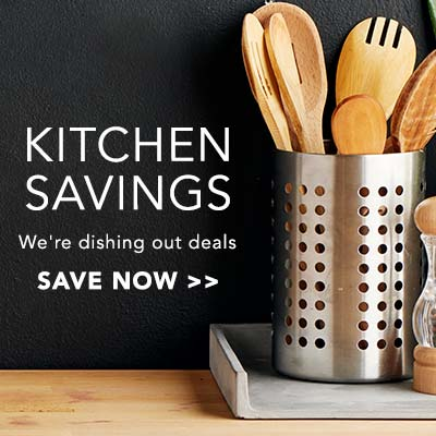KITCHEN SAVINGS - We're dishing out deals at ShopHQ