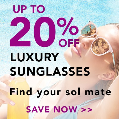Up to 20% OFF LUXURY SUNGLASSES at Evine