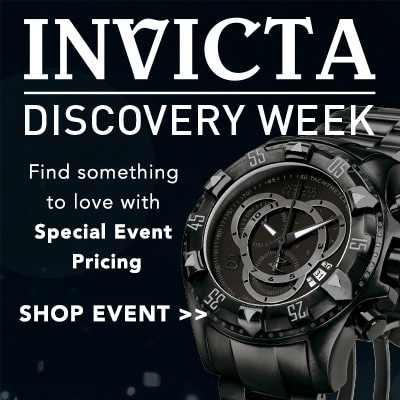 INVICTA DISCOVERY WEEK - Find something to love with Special Event Pricing at Evine - Invicta Men's 52mm Excursion Touring Quartz Chronograph Stainless Steel Bracelet Watch - 657-889