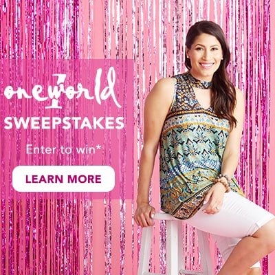 One World Sweepstakes at Evine - One World Printed Knit Sleeveless Mock Neck Keyhole Hi-Lo Top - 731-906
