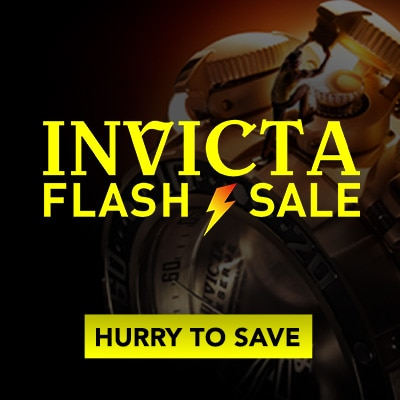 Invicta Flash Sale
