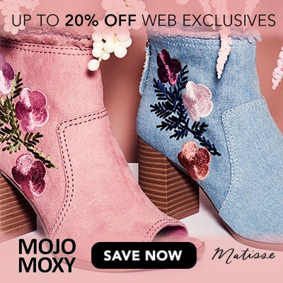 Up to 20% Off Web Exclusives at Evine - Dolce by Mojo Moxy 'Uno' Embroidered Peep Toe Booties - 738-173