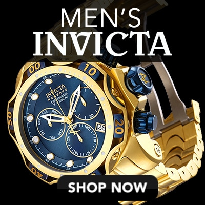 Men's Invicta at Evine - Invicta Reserve Men's 52mm Venom Gen III Swiss Quartz Chronograph Stainless Steel Bracelet Watch - 654-283