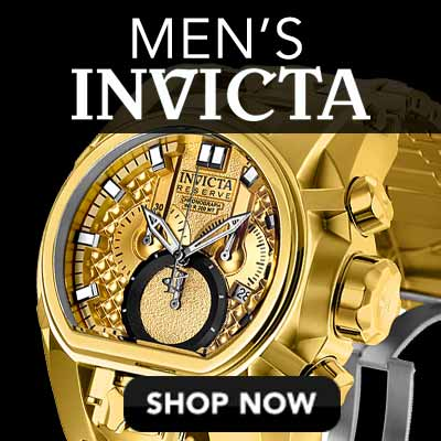 Men's Invicta at Evine - 645-249 Invicta Reserve Men's 52mm Bolt Zeus Magnum Swiss Quartz Dual Movement Bracelet Watch
