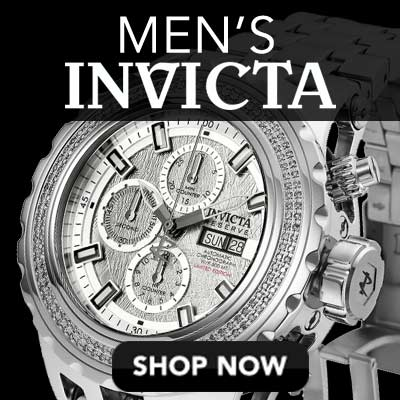Men's Invicta at Evine - 646-763 Invicta Reserve Men's 52mm Specialty Subaqua Limited Ed Automatic Chronograph Diamond Dial Watch