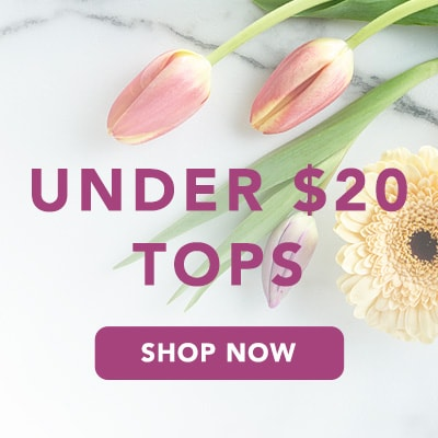 Tops Under $20 at Evine