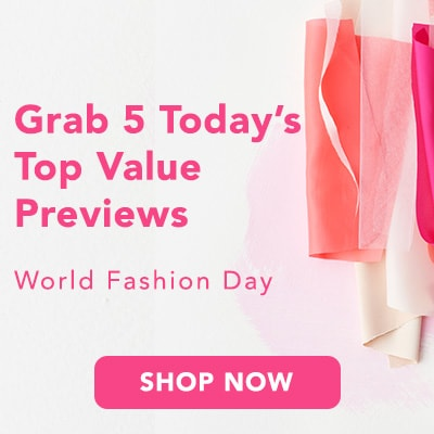 WORLD FASHION DAY at Evine