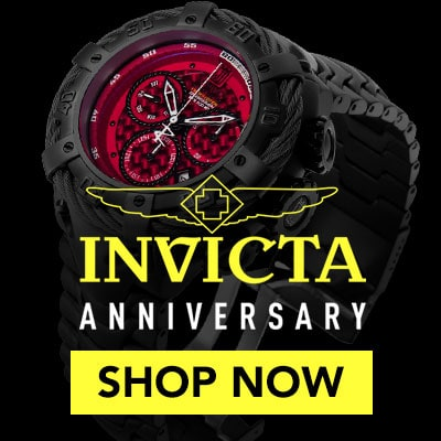 Invicta Anniversary - Invicta Jt Thunderbolt Swiss Carbon Quartz Chrono Stainless Bracelet Watch W/3dc - 662-232