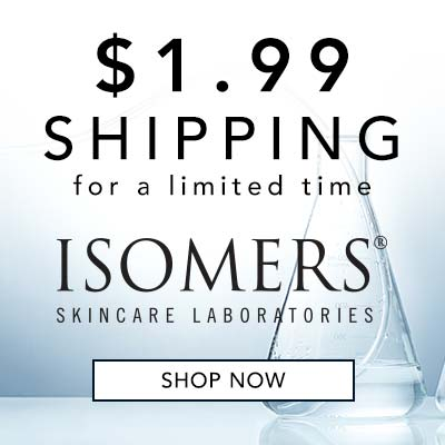 $1.99 SHIPPING ISOMERS SKINCARE at Evine