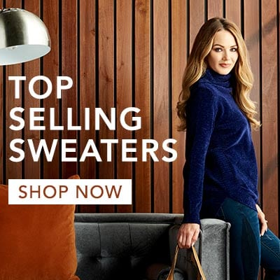 Top Selling Sweaters at Evine - 739-405 OSO Casuals® Chenille Knit Bracelet Sleeve Cowl Neck Sweater