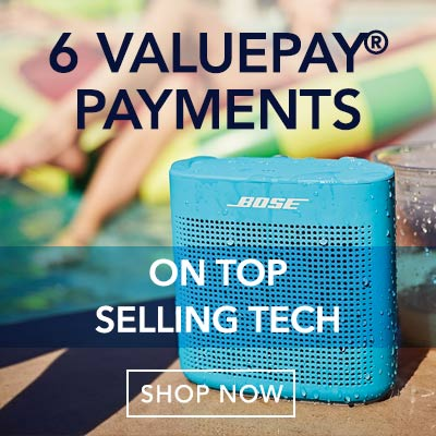 6 VALUEPAY® PAYMENTS  ON TOP SELLING TECH at Evine - 472-388 Bose SoundLink Color II Portable Bluetooth Speaker