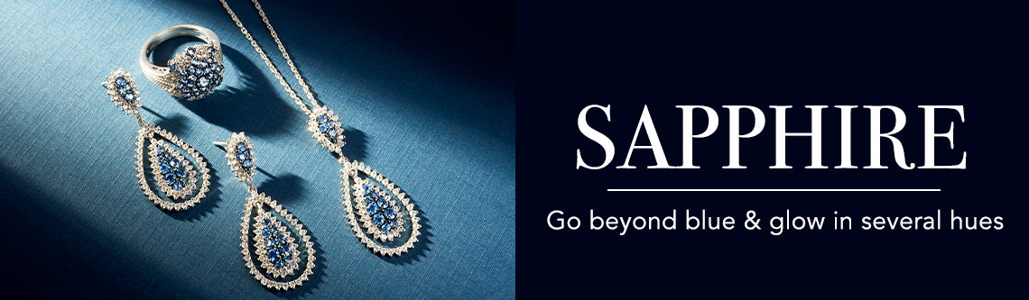 SAPPHIRE Go beyond blue & glow in several hues