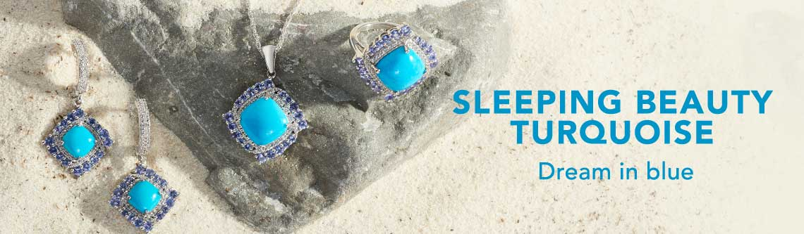 SLEEPING BEAUTY TURQUOISE  Dream in blue
