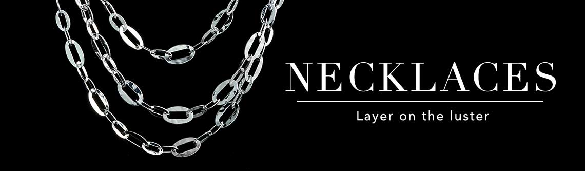 NECKLACES Layer on the luster
