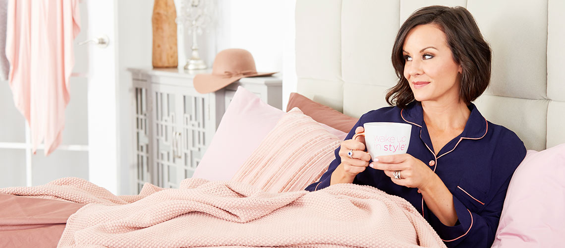 Wake Up In Style at Evine