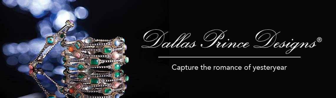 DALLAS PRINCE DESIGNS  Capture the romance of yesteryear  172-339 Dallas Prince 7.5 or 8 Multi Gemstone Beaded Bangle Bracelet