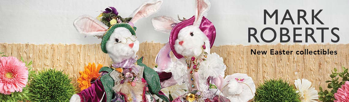 MARK ROBERTS  New Easter collectibles at Evine