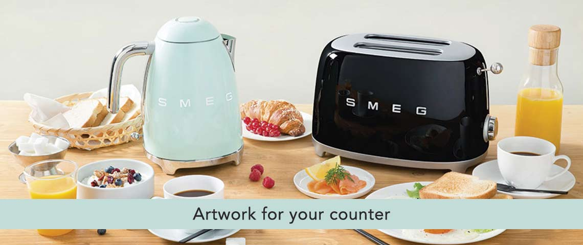 SMEG - Artwork for your counter at ShopHQ