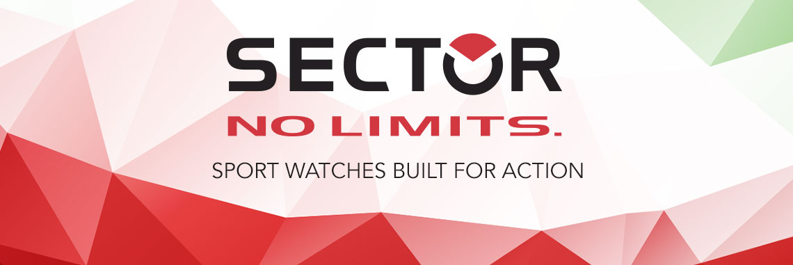 SECTOR NO LIMITS - Sport watches built for action