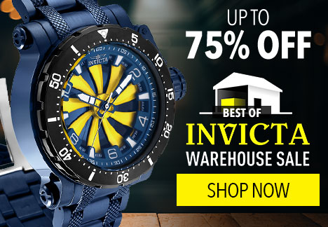 Up to 75% Off Best of Invicta Warehouse Sale - 657-984