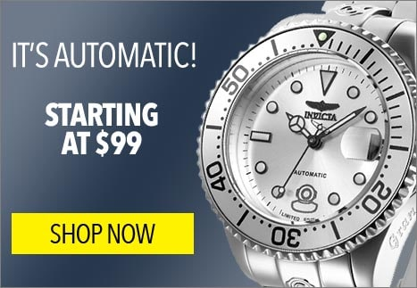 It's Automatic! Starting at $99 - 657-859