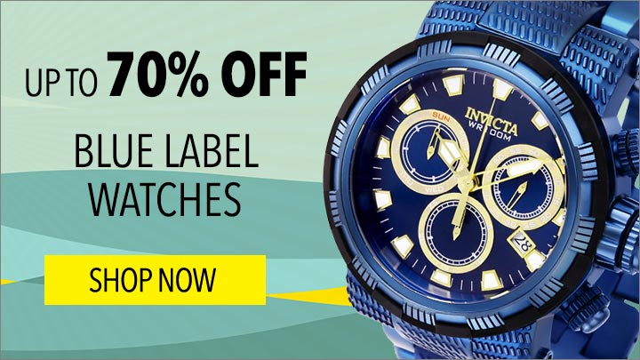 Blue Label Watches- Up To 70% Off - 657-216