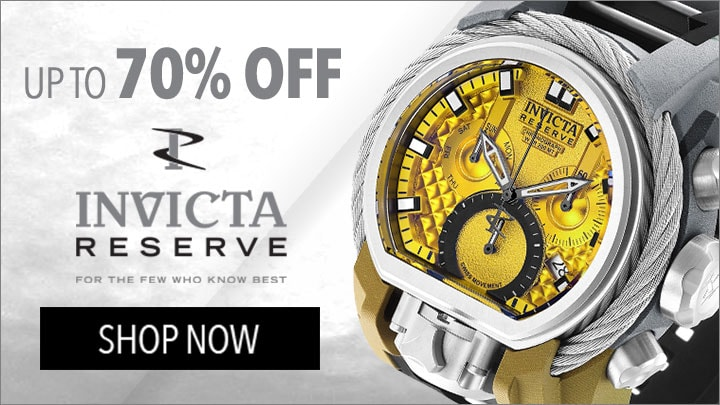 Up To 70% Off Invicta Reserve - 654-129