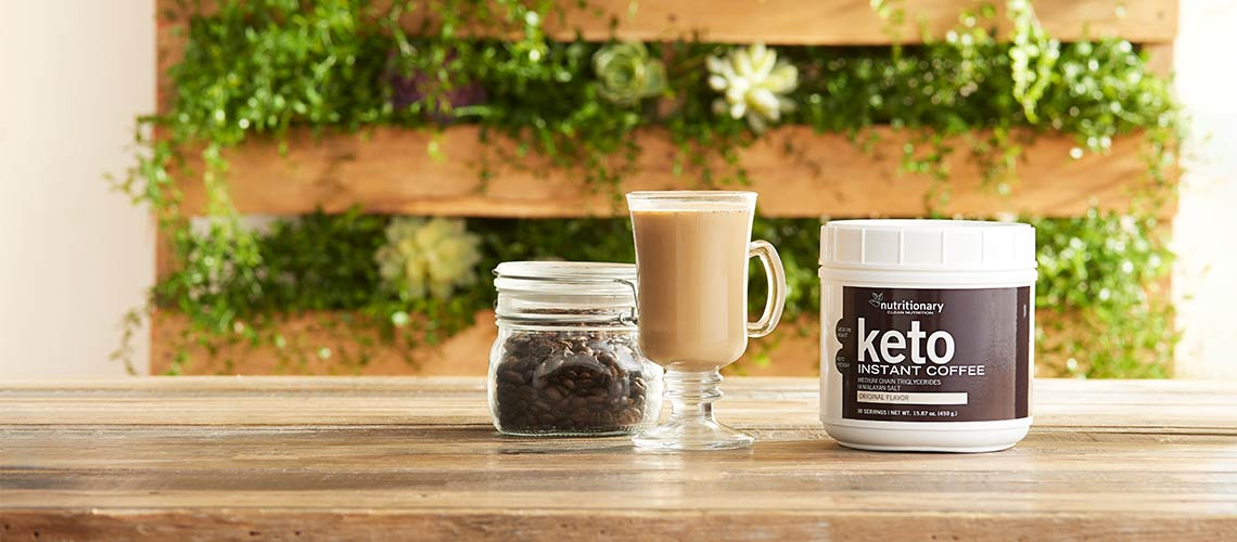 Nutritionary - Feed your body sustainably with Nutritionary at ShopHQ - 002-159 Nutritionary Keto Instant Medium Roast Coffee (30 Servings)