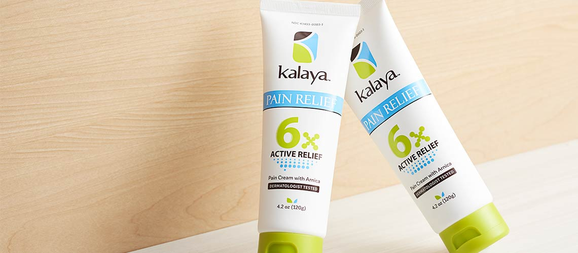 Kalaya - 002-194 Kalaya 6x Extra Strength Temporary Pain Relief Rub Duo 4.2 oz Each