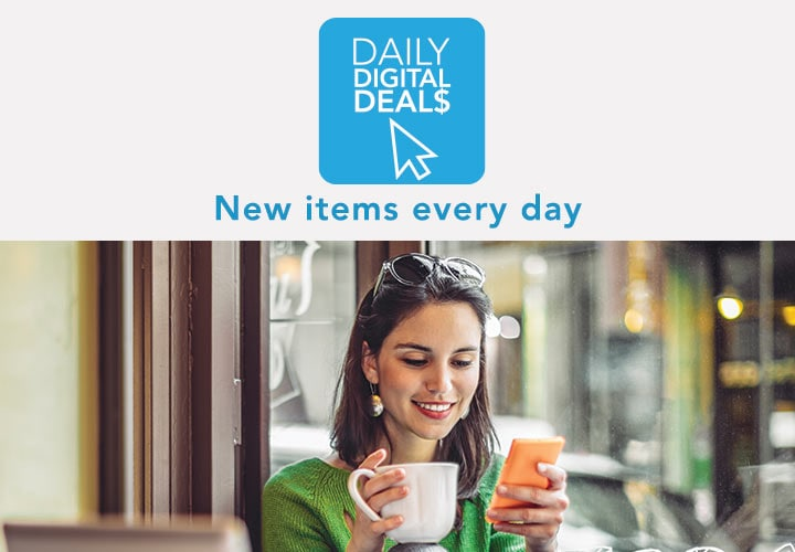 DAILY DIGITAL DEALS  New items every day at Evine