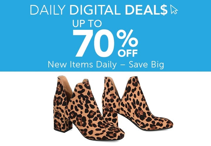 Daily Digital Deals  Up to 70% Off - 745-247 | Journee Collection Women's Gwenn Bootie