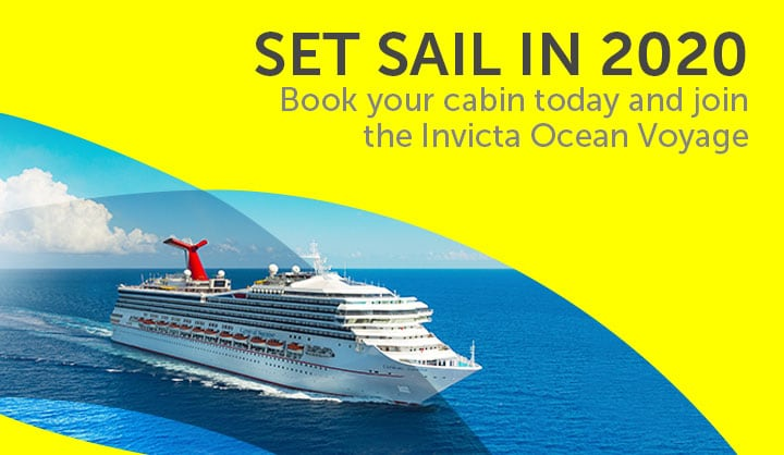 INVICTA OCEAN VOYAGE - SETS SAIL IN 2020 -  Book your cabin today