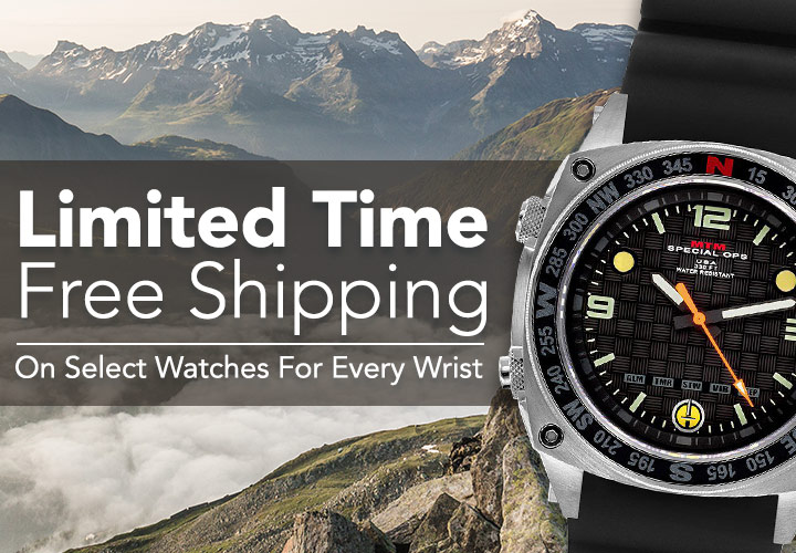 Limited Time Free Shipping on Select Watches for Every Wrist at Evine - 666-630 Casio Men's 44mm Illuminator Quartz Black Dial Stainless Steel Bracelet Watch