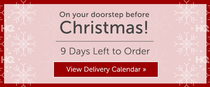 On Your Doorstep Before Christmas! 9 Days Left to Order  View Delivery Calendar at ShopHQ