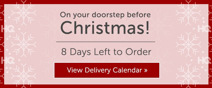 On Your Doorstep Before Christmas! 8 Days Left to Order  View Delivery Calendar at ShopHQ